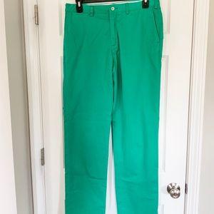 Polo Ralph Lauren Green Classic Fit Pants - 34x34